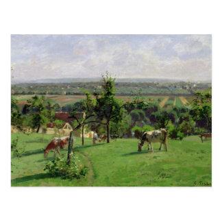 Helling van Vesinet, Yvelines, 1871 Briefkaart
