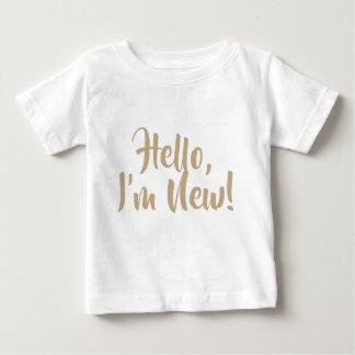 Hello, ben ik Nieuw! T-shirt