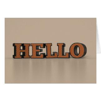 Hello Briefkaarten 0