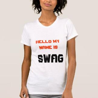 hello is mijn naam swag t shirt