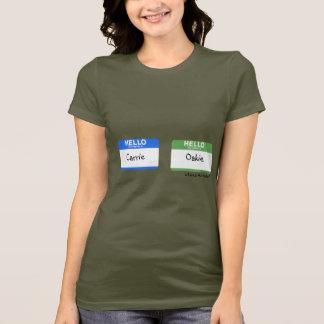 Hello Mijn Naam is… de T-shirts van de Prop