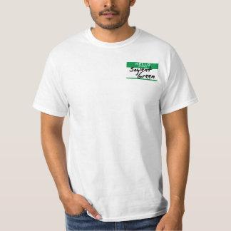 Hello, mijn naam is Groene Soylent (de versie van T Shirt