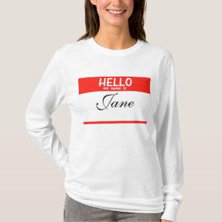 Hello Mijn Naam is ____Hoodie T Shirt