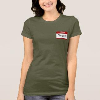 Hello Mijn Naam is (Rode) Margarita T Shirt