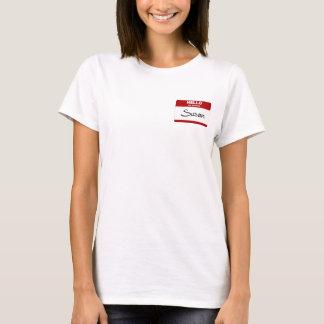 Hello Mijn Naam is (Rode) Susan T Shirt