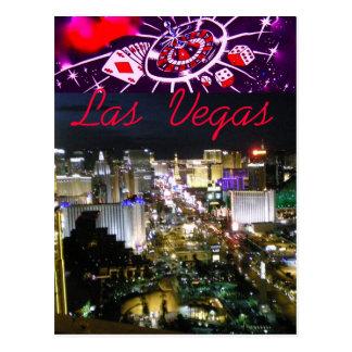 Hello van de Boulevard van Las Vegas Briefkaart