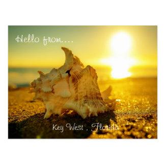 Hello van… Key West, Florida Briefkaart