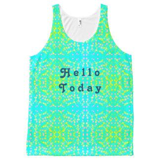 Hello vandaag All-Over-Print tank top