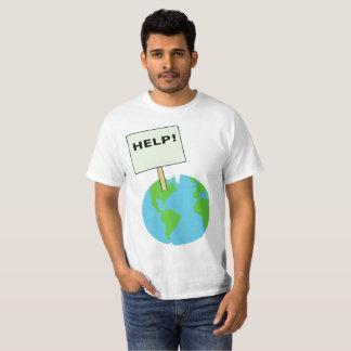 help de aarde! t shirt