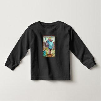 Helpend Granpa behandel Zijn Vijgeboom Kinder Shirts