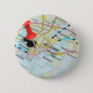 Helsinki, Finland Ronde Button 5,7 Cm