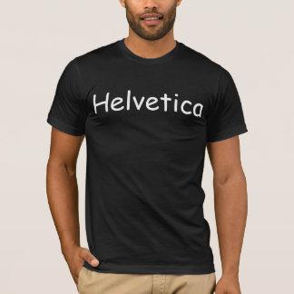 Helvetica in Grappig zonder T-shirt
