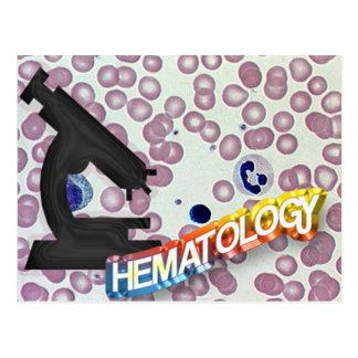 HEMATOLOGIE - Medische Technologie - Laboratorium Briefkaart
