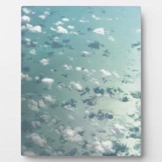 Hemel en wolken fotoplaat
