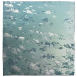 Hemel en wolken servet