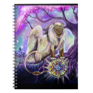 Hemel Lion~notebook Notitieboek