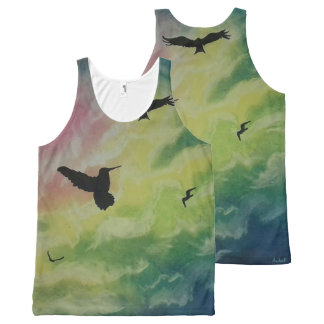 Hemel van Vogels All-Over-Print Tank Top
