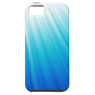 Hemels Licht Ombre wit aquablauw Tough iPhone 5 Hoesje