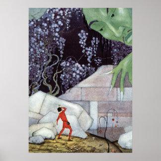 Henry en de Reus door Virginia Frances Sterrett Poster