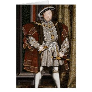 Henry het Achtste Portret Briefkaarten 0