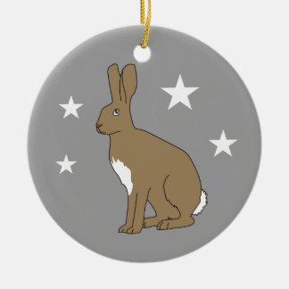 Henry het Ornament van Kerstmis van het Konijn