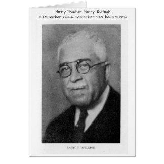 "Henry Thacker ""Harry"" Burleigh Briefkaarten 0"