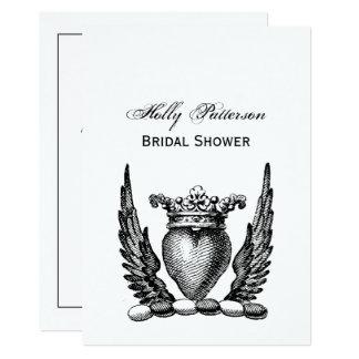 Heraldisch Hart met CREST van het Wapenschild van Kaart