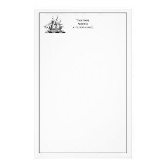Heraldisch Vintage ZeevaartClipper CREST van het Briefpapier