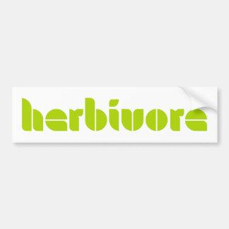 Herbivore de Sticker van de Bumper