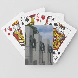 HerdenkingsKronen I van de Wereldoorlog II Pokerkaarten