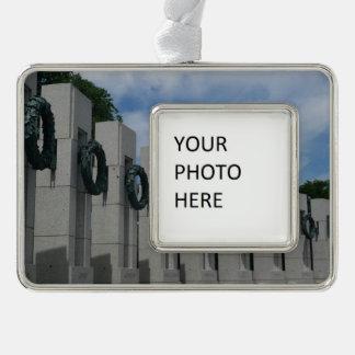 HerdenkingsKronen I van de Wereldoorlog II Verzilverd Omlijst Ornament
