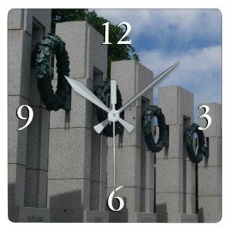 HerdenkingsKronen I van de Wereldoorlog II Vierkante Klok