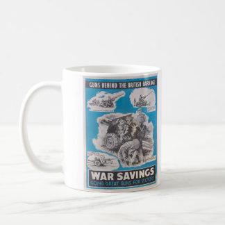 Herdruk van Britse affiche in oorlogstijd Koffiemok