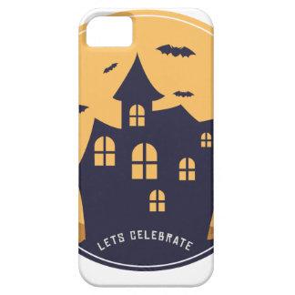 Herenhuis en de Knuppels van Halloween het Barely There iPhone 5 Hoesje