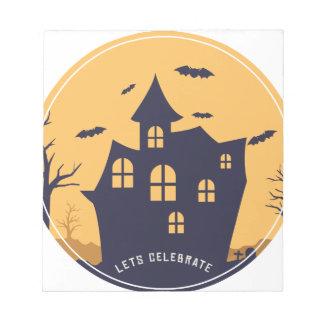 Herenhuis en de Knuppels van Halloween het Notitieblok