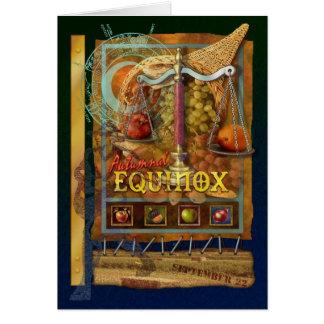 Herfst Equinox Briefkaarten 0