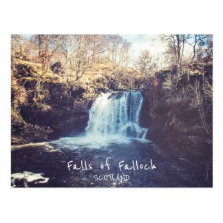 Herfsten van Falloch - Schotland   Briefkaart