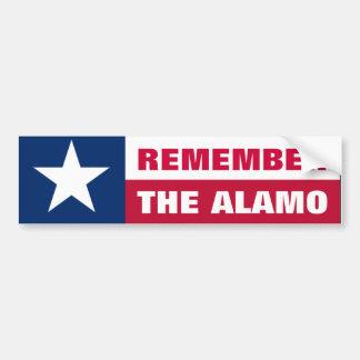 Herinner Alamo Bumpersticker