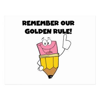 Herinner Onze Gouden Regel Briefkaart