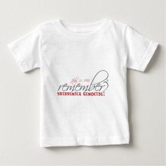 herinner srebrenicavolkerenmoord baby t shirts