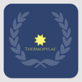 Herinner Stickers Thermopylae
