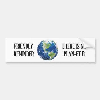 Herinnering is er geen sticker van de planeetB