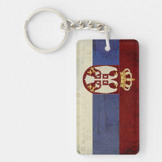 Herinnering van de Ketting van de Vlag van Servië Sleutelhanger
