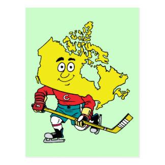 Herinnering van de Reis van het Hockey van Canada Briefkaart