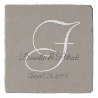 Herinnering van het Huwelijk van het Monogram van Trivet