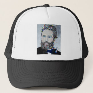 Herman melville - olieportret trucker pet