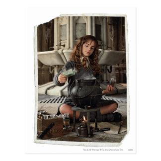 Hermione 20 briefkaart