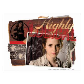 Hermione 8 briefkaart
