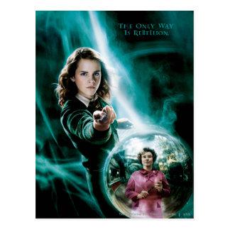 Hermione Granger en Professor Umbridge Briefkaart