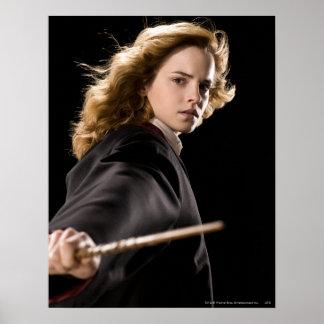 Hermione Granger Klaar voor Actie Poster